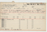 Enlistment Card for Richard Gregory Gover, 15th NY National Guard in 1941