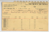 Enlistment Card for Raymond A Hunter , 15th NY National Guard in 1946