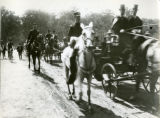 McKinley at State Reservation at Niagara in carriage