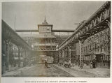 Elevated Railroad, 2nd Avenue and 34th Street.