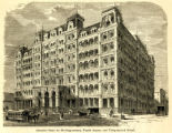 Stewart's Hotel for Working Women, Fourth Avenue and Thirty-second Street.