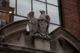 Eagle with bas relief shield, William Sloane House, Y.M.C.A.
