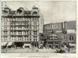 Broadway, 31st to 32nd Street, 1218 to 1238 - Atlantic Coast Line - Wallack's Theatre - Hiram...