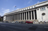 Farley Post Office, 8th Avenue between 31st and 32nd Streets, Eighth Avenue façade from 33rd...
