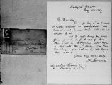 [Letter and envelope from K. Rayner to Lysander Spooner]