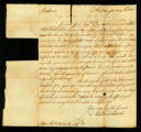 [Letter from Nathaniel Booth to Messrs. Saml. & William Vernon]