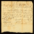 [Deed of Emancipation of the slave Jacob by Humphrey Lyon]