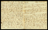 [Letter from Sam Brown to William Vernon, Esq.]