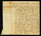[Letter from Wyndham Beawes to Messrs. Samuel and William Vernon]