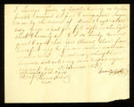 [Deed of Emancipation of the slave Daniel by Lorenzo Goode]