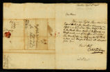 [Letter from Caleb Godfrey to Messrs. Saml. & Wm. Vernon]