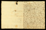 [Letter from Wm. Richards to Mr. William Vernon]