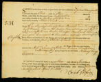 [Bill of lading for the Sloop Hare from Charleston, South Carolina, to Newport, Rhode Island]