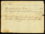 [Receipt for clothing from Ephraim Wiles]