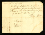 [Receipt for the sale of a slave named Jacob]