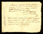 [Bill of sale for a slave named Emelye]