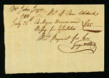 [Bill of sale for a slave named Bessy]