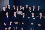29 Daughters of Charity currently and formerly serving Lourdes Hospital receive Auxiliary plaque...