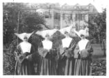 01 Four of the five Daughters of Charity who founded Lourdes Hospital