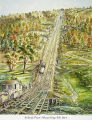 Inclined Plane. Ithaca-Owego Railroad 1834