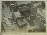 Aerial view of St. Joseph's Hospital [1972]