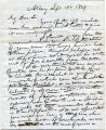 Letter from Alden March (Surgeon) - Sept. 18, 1849