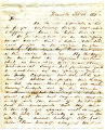 Letter from George W. Lincoln -...