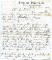 Letter to George W. Lincoln from...
