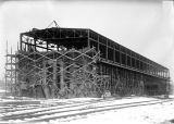 Work progressing on the approach to the Barge Canal Terminal 1921