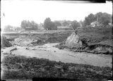 Canal washout,1911 - 2