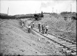 Barge Canal construction, 1910