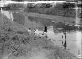 Children in the canal 1924