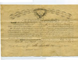 Appointment to Sergeant, Aug. 30, 1863
