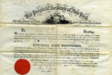 Appointment to 2nd Lt. of New York State Volunteers, Nov. 30, 1864