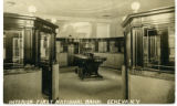 Interior, First National Bank, Geneva, N.Y.