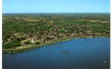 Aerial View of Geneva, N.Y.