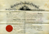 Appointment to 1st. Lt., May 10, 1865
