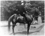 Charles Folger on Horseback