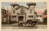 Alert Fire Department, Great Neck, L. I., Hand-Colored.