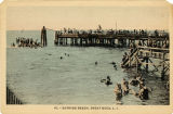 10. -  Bathing Beach, Great Neck, L. I.