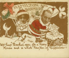 [Christmas Card from Hamilton and Barnes]