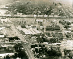 [Aerial View of Henry Street from Merrick Road North to the Railroad]