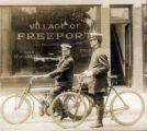 [Policemen at the Village of Freeport Offices]