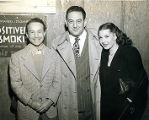 [Guy Lombardo, Joel Gray and a Woman]
