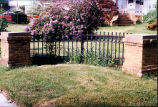 [Fence at 392 South Ocean Avenue]