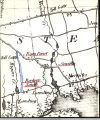 Map Showing Freeport, Then Called Raynor South in 1836