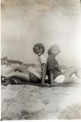 [Two women at the beach]