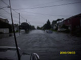[Flooding on South Long Beach Avenue]