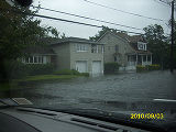 [Flooded South Long Beach Avenue]