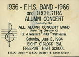 """1936-F.H.S. Band-1966 and Orchestra Alumni Concert"